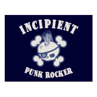 Incipient Punk Rocker Postcard