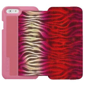 Incipio animal abstracto loco iPhone6 Walletcase Funda Billetera Para iPhone 6 Watson