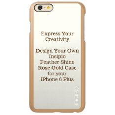 Incipio Feather Shine Iphone 6 Plus Case Rose Gold at Zazzle
