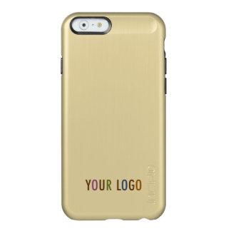Incipio iPhone 6 6s Gold Case Custom Business Logo