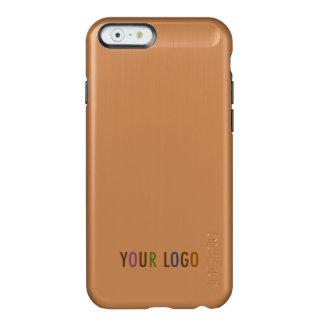 Incipio iPhone 6 6s Rose Gold Case Business Logo