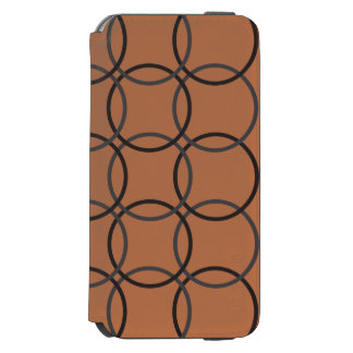Incipio(TM) iPhone 6/6s Wallet Case - Brown Cir