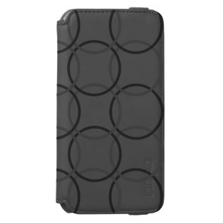 Incipio(TM) iPhone 6/6s Wallet Case - Charcoal Cir