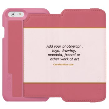 Incipio Watson Iphone 6 Wallet Case Pink Or Black by Casefashion at Zazzle