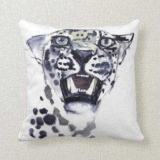 Incisor Snarl Throw Pillow