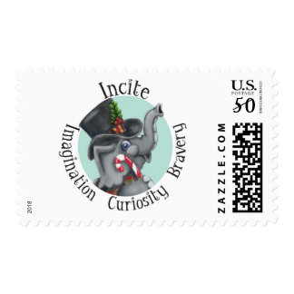 Incite Imagination Postage Stamp