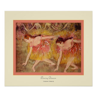 Inclinación Dancers~ Edgar Degas Impresiones