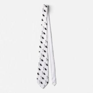 Inclinación en el lazo de las turbinas corbata personalizada