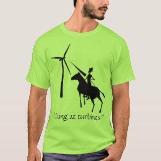 Inclinación en la camiseta de las turbinas