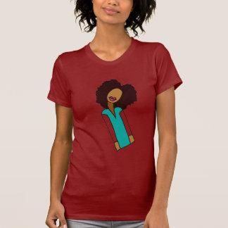 Inclinación natural camisetas