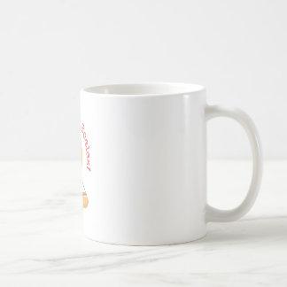 Inclinar las escalas taza básica blanca