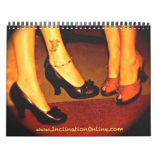 Inclination 2011 Calendar