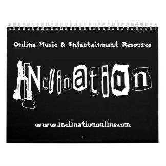 INCLINATION MAY2010-MAY2011 Cal Calendar