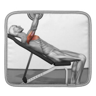 Incline Bench Press 3 Sleeve For iPads