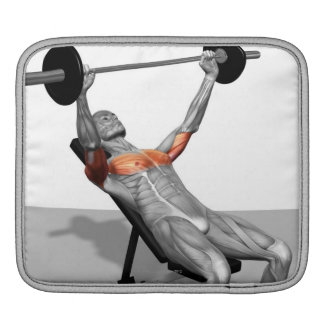 Incline Bench Press Sleeve For iPads
