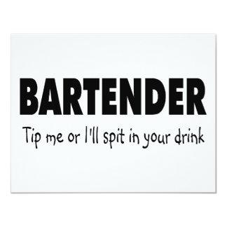 Incline me o el escupitajo enfermo en su bebida invitaciones personales