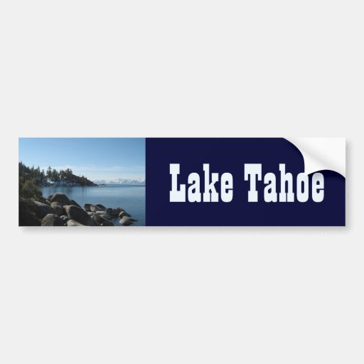 Incline, North Lake Tahoe Bumper Stickers