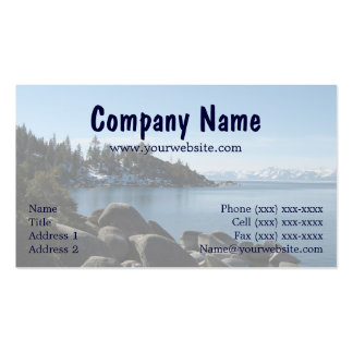 Incline, North Lake Tahoe Business Card