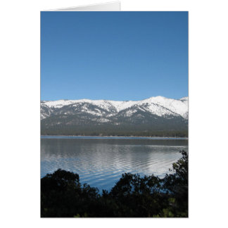 Incline, North Lake Tahoe Greeting Card