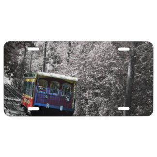 Incline Railway License Plate