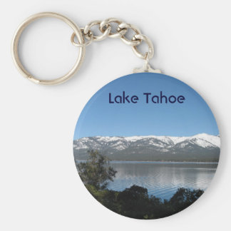 Incline Village, North Shore Lake Tahoe Basic Round Button Keychain