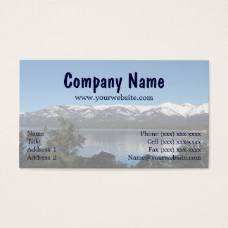 Incline Village, North Shore Lake Tahoe Business Card