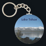 """Incline Village, North Shore Lake Tahoe Keychain<br><div class=""""desc"""">View of Lake Tahoe from Incline Village,  Nevada. Spring 2010.</div>"""