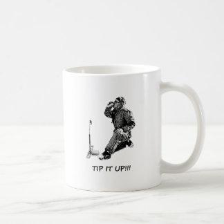 ¡Inclínelo para arriba! Taza De Café