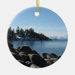 ¡Inclínese, el lago Tahoe del norte, 2 diversas im Ornamento Para Arbol De Navidad