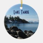 ¡Inclínese, el lago Tahoe del norte, 2 diversas im Adornos De Navidad