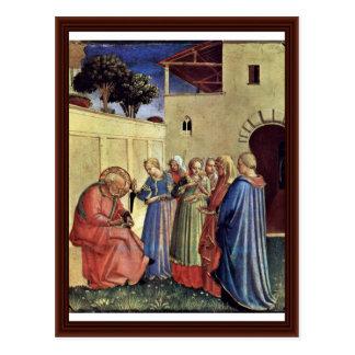 Inclusión del nombre para el bautismo postales
