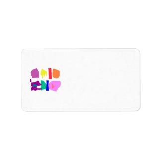 Inclusion Address Label