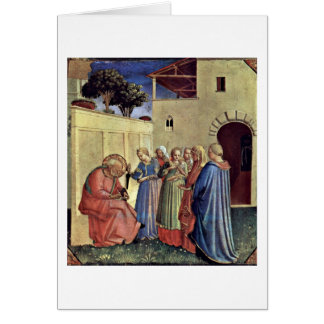 Inclusion Of Name Of A Polyptych By Fra Angelico Card