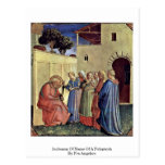 Inclusion Of Name Of A Polyptych By Fra Angelico Post Cards