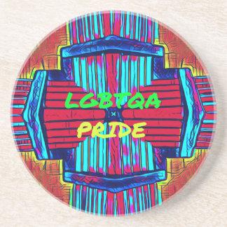 Inclusive 'LGBTQA PRIDE 'Rainbow Spectrum Coaster