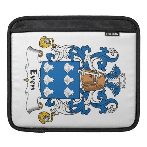 Incluso escudo de la familia mangas de iPad