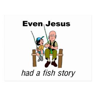 Incluso Jesús tenía decir cristiano de la historia Postal