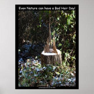 """""""Incluso la naturaleza puede tener un mún día del  Posters"""