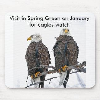 Incluso las águilas necesitan un empuje tapete de ratón