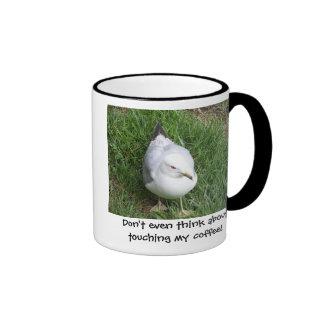 Incluso no piense en el tacto de mi café tazas de café