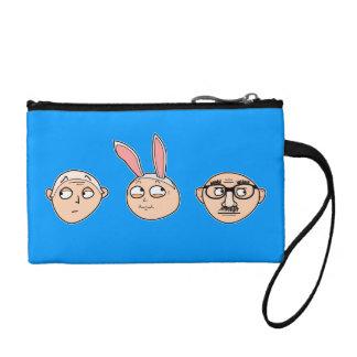 """Incognito"" coin purses, wristlets, etc. (blue) Coin Wallet"