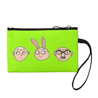 """Incognito"" coin purses, wristlets, etc. (green) Coin Wallet"