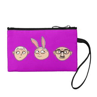 """Incognito"" coin purses, wristlets, etc. (purple) Coin Wallet"