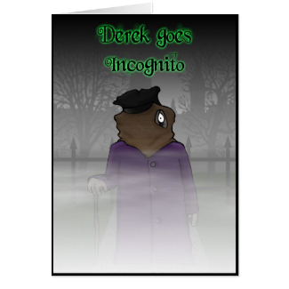 Incognito Greeting Cards