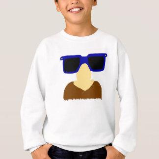 Incognito Mustache & Glasses Kids Sweatshirt