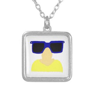 Incognito Mustache & Glasses Necklace