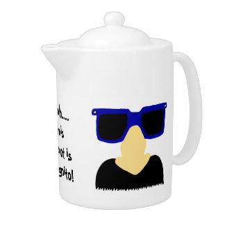 Incognito Mustache & Glasses Teapot