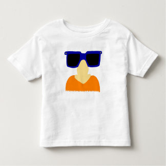 Incognito Mustache & Glasses Toddler T-Shirt
