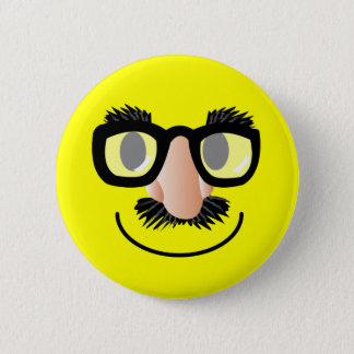 'incognito' SMILEY FACE PIN