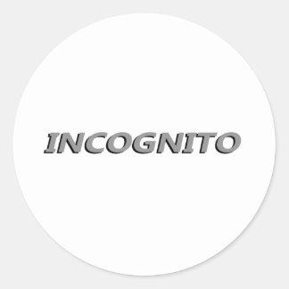 Incognito Stickers